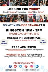 Kingston Job Fair – May 09th,  2019